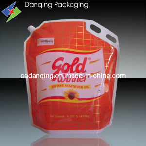 Plastc Packaging Stand up Pouch with Spout at Corner pictures & photos