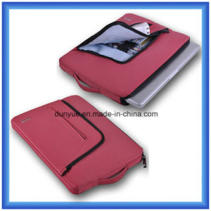 Fashion Shockproof Slim Carrying Laptop Briefcase, Custom Portable 13 Inch Laptop Sleeve with Zipper pictures & photos