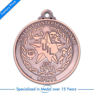 Custom League Gold School Award Souvenir Medal pictures & photos