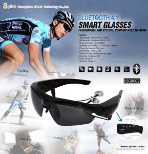 Wholesale Product Smart Bluetooth Sunglasses Bluetooth Glasses pictures & photos