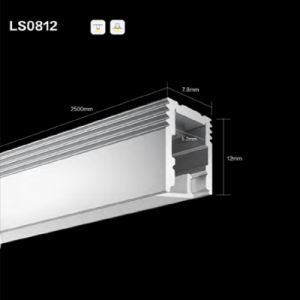 Ns0812 LED Linear Light Aluminium Profile/Channel/Extrusion for LED Strip pictures & photos