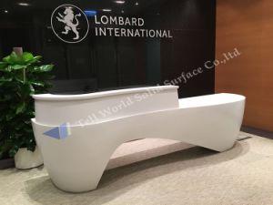 Tw Modern Style Elegant Design Corian Reception Counter Top/ Parlour Front Desk pictures & photos