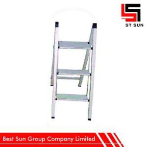 Folding Ladder Three Tread, Aluminum Atep Ladder Sale pictures & photos