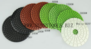 2016 Best Price Flexible Resin Diamond Polishing Pads for Granite pictures & photos