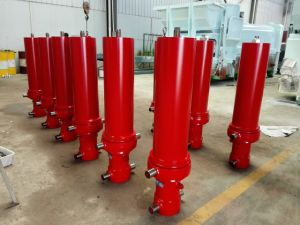 Single-Acting Hydraulic Cylinder pictures & photos