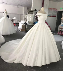 Wedding Photo Marriage Gown for Bride pictures & photos