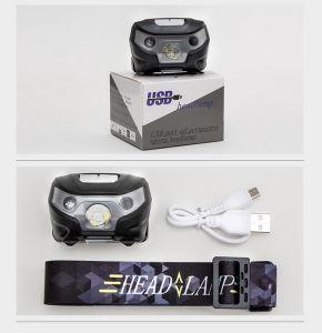 Hot Sales Sensor Control Super Bright Headlamp pictures & photos