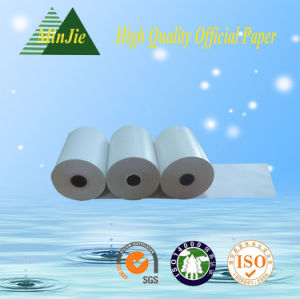 Cash Register Paper Type Q-Matic Paper Roll for ATM POS Machine