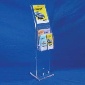 Customize Clear Acrylic Menu Holder Desktop Sign Holder Stand pictures & photos