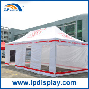 Customized 4X8m Folding Canopy with Transparent Sidewalls for Sale pictures & photos