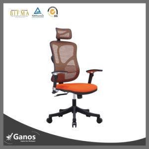 Brown Leather Ergonomic Executive Office Chair Best Adjustable Office Chair pictures & photos