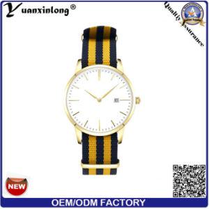 Yxl-034 Promotion Hot Selling Watch Ladies Luxury Fashion Nylon Strap Wirst Watch Men′s Watch Custom Logo OEM Watch pictures & photos