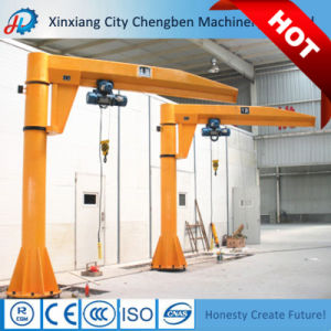 Revolving Mast-Type Electric Mobile Jib Crane with Heaby Duty pictures & photos