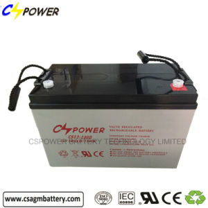 Deep Cycle Solar AGM Batteries 12V100ah for Power Storage pictures & photos