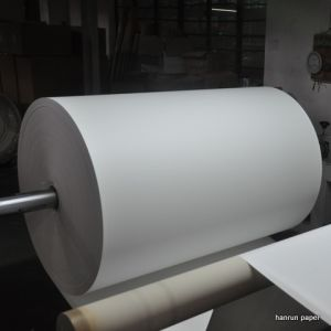 300m 45GSM Instant Dry Sublimation Transfer Paper for Polyester Fabric Transfer pictures & photos