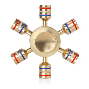 Rudder Style CNC Brass Fidget Hand Spinner pictures & photos