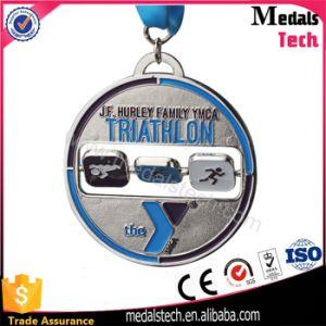 Wholesale Custom Medallion Awards Rotatable Race Medal pictures & photos