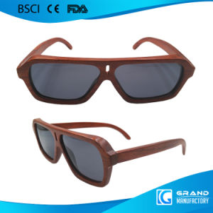 New Made in China Custom Logo Vintage Wood Sunglasses pictures & photos