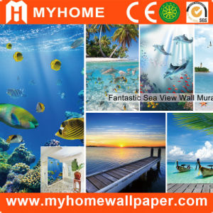 Customized Wall Mural, Natural Scenery Photo Wall Paper pictures & photos
