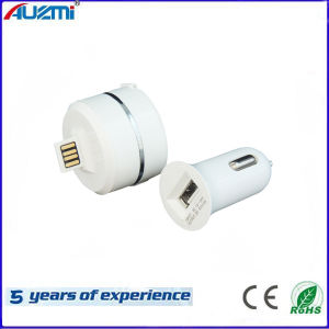 Universal USB 3 in 1 Car Charger with Cable pictures & photos