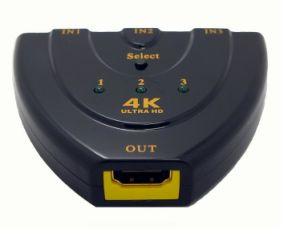 4k*2k 3D Mini 3 Port HDMI Switch pictures & photos