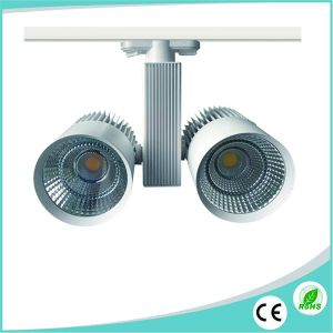 40W CREE COB LED Track Spotlight for Commercial Lighting pictures & photos
