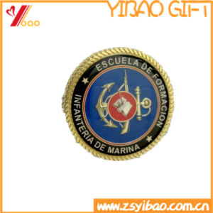 Custom Zinc Alloy Coin/Souvenir Coins with Wheel Border and Epoxy (YB-SM-89) pictures & photos