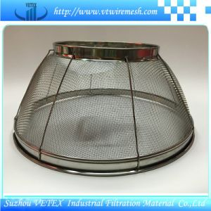 Stainless Steel Shopping Mesh Basket Used in Market pictures & photos