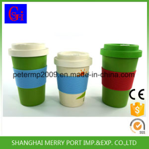 14zo 400ml Good Quality Competitive Price Bamboo Fiber Coffee Cup pictures & photos