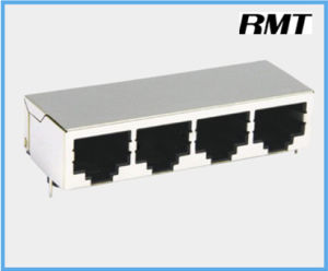 RJ45 Connector (RMT-59-035921-S8P4port) pictures & photos