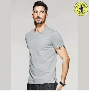 OEM 100% Cotton Summer Shirts for Men Pictures Round Neck Short Sleeve T-Shirt pictures & photos