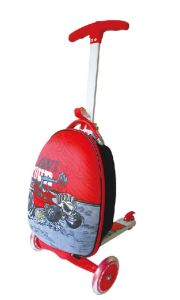 Child Travel 3-Wheel Luggage Scooter Suitcase Scooter Ca-Ls05 pictures & photos