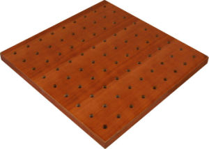 Perforated Acoustic Wood Panels pictures & photos