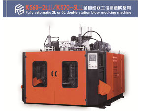 Bottle 5L Double Station Blow Moulding Machine pictures & photos
