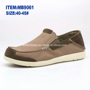 Hotsale Men′s Slip-on Casual Shoes Canvas Shoes Wholesale Customize (MB9061) pictures & photos