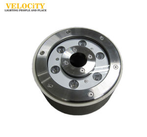24V Stainless Steel RGB LED Fountain Light with IP68 for Pool