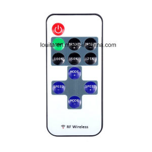 11 Key Mini RF Wireless Remote Switch Controller for Single Color LED Strip pictures & photos