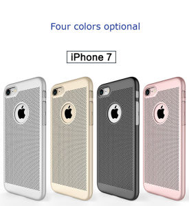 Fashionable PC+Silicone Hybrid Case for iPhone 7 pictures & photos