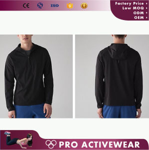 Full Zip up Windstopper Mens Gym Wear Moisture Wicking Jacket pictures & photos