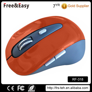 Buy Glossy Surface Optical 2.4G Laptop Wireless Mouse pictures & photos