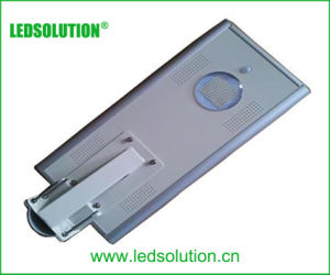 Body Sensor Integrated Solar LED Street Light with Solar Panel pictures & photos