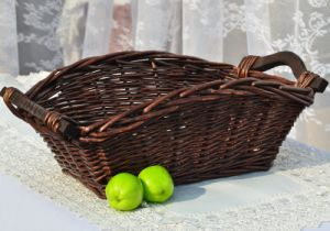 Eco-Friendly Handmade Natural Willow Flower Basket (BC-ST1213) pictures & photos