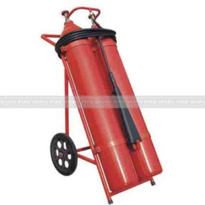 Double Cylinder 50kg Wheeled CO2 Fire Extinguisher pictures & photos