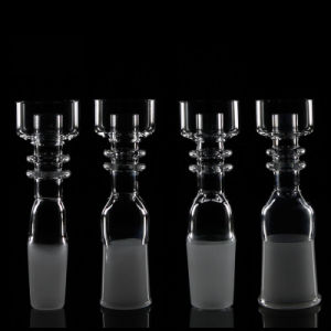 Quartz Honey Bucket Female Domeless Quartz Nail 14mm 18mm Female Male Joint Quartz Domeless Nails for Glass Oil Rigs pictures & photos