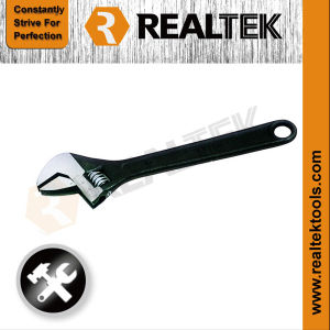 Black Finished Quick Flexible Monkey Wrench with Scale pictures & photos