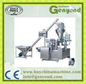 Detergent Powder Auger Dosing Filling Sealing Packing Machine pictures & photos