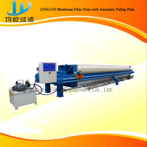 Automatic 1000X1000 PP Membrane Filter Press Used in Foodstuff pictures & photos