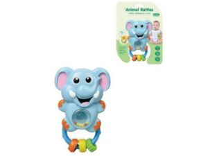 Kids Plastic Educational Elephant Animal Rattles Baby Toy pictures & photos