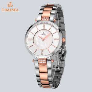 New Full Stainless Steel Sapphire Swiss Watch Women Casual Style Clear Luxury Watch 71113 pictures & photos
