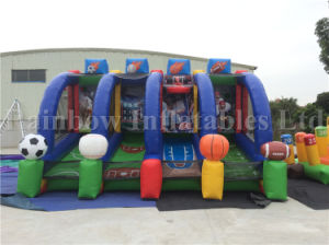 Inflatable Sport Game with Basketball/Shooting/Thumping Game, Shooting Ball Game pictures & photos